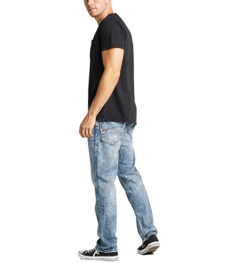 Silver Eddie Relaxed Tapered Jean