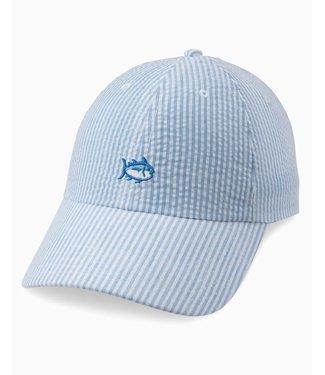Southern Tide Seersucker Mini Skipjack Hat