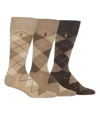 Polo Ralph Lauren Polo Argyle Socks 3 Pack