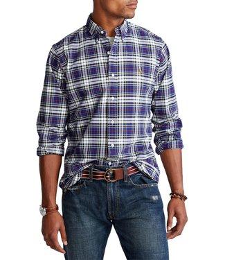 Polo Ralph Lauren Classic Fit Plaid Performance Oxford Shirt
