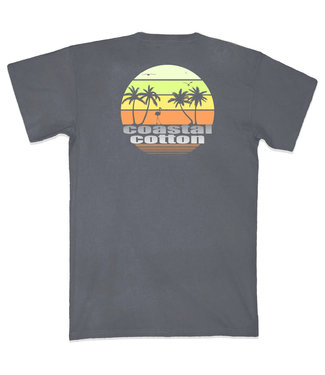 Coastal Cotton Sunset T-Shirt