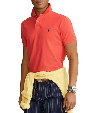 Polo Ralph Lauren Racing Red Classic Fit Mesh Polo