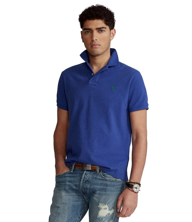 Polo Ralph Lauren Bright Navy Classic Fit Mesh Polo