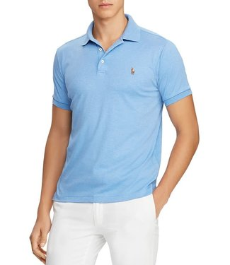 Polo Ralph Lauren Cabana Blue Classic Fit Soft Touch Polo