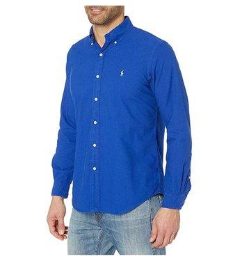 Polo Ralph Lauren Royal Garment Dyed Oxford Shirt