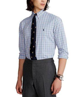 Polo Ralph Lauren Plaid Stretch Twill Performance Woven Shirt