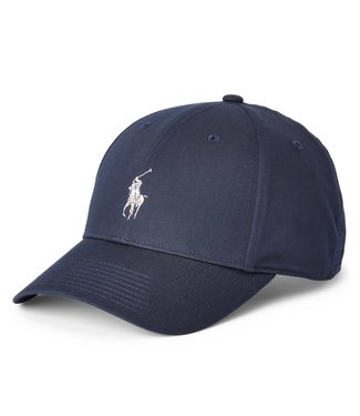 Polo Ralph Lauren Recycled Materials Collection Navy Twill Ball Cap O/S
