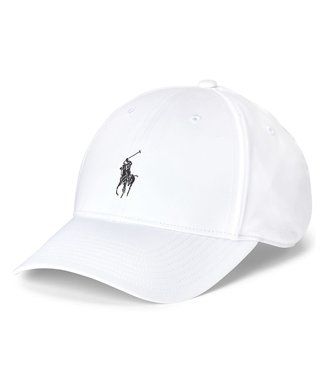 Polo Ralph Lauren Recycled Materials White Twill Ball Cap O/S