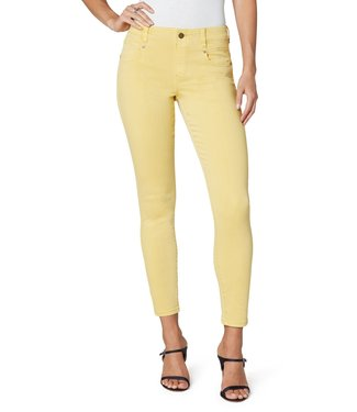 Liverpool Gia Glider Ankle Skinny Jean in Gold Dust