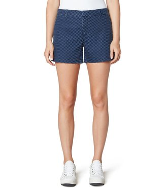 Liverpool Dot Print Trouser Shorts with Welt