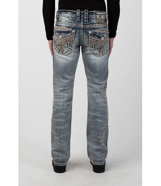 Rock Revival Sawyer Straight Fit Jeans