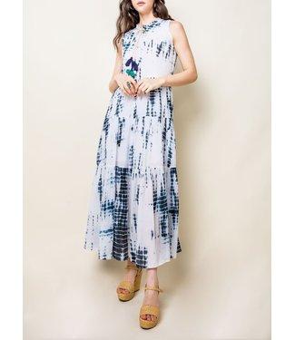 THML Sleeveless Tiered Dress