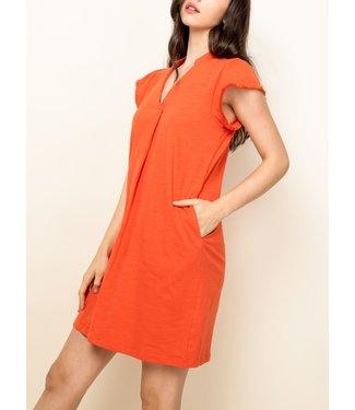 THML V-Neck Shirt Dress