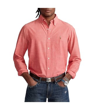 Polo Ralph Lauren Classic Fit Chambray Solid Woven Shirt