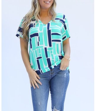 Michelle McDowell Willow All Squared Away Top