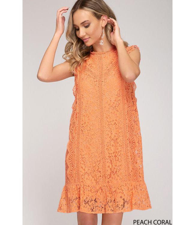 She & Sky Lace Dress