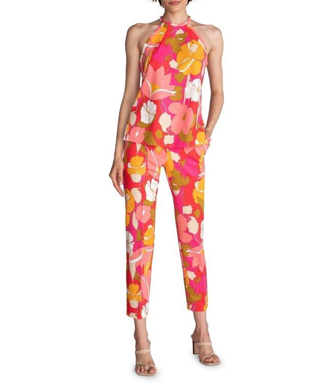 Trina Turk Larkin Floral Print Pants