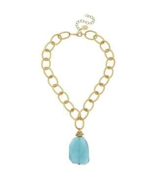 Susan Shaw Elizabeth Quartz Necklace