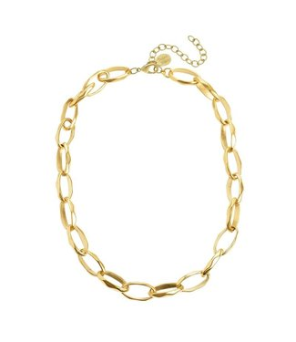 Susan Shaw Campbell Loop Chain Necklace