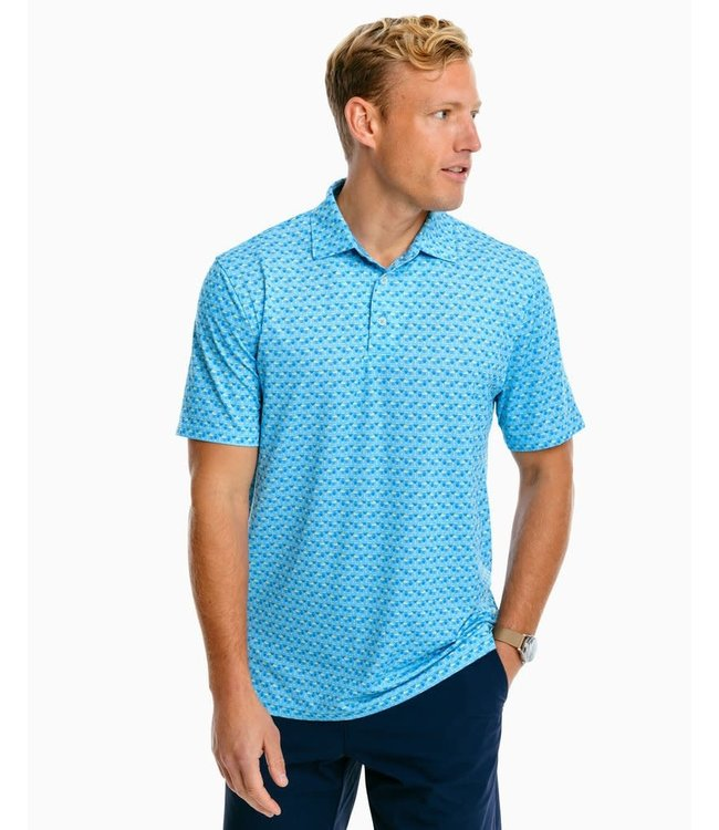 Southern Tide Driver Drink of the Day Polo Shirt