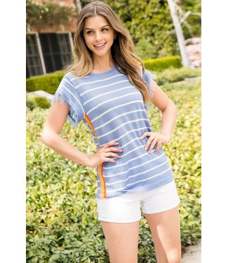 THML THML Stripe Knit Top
