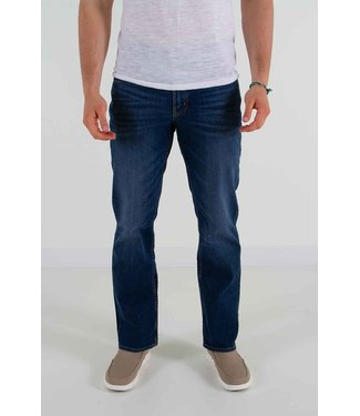 Silver Silver Relaxed Fit Straight Leg Jeans