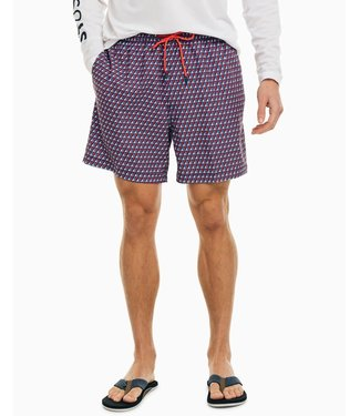Southern Tide All at Sea Swim Trunks