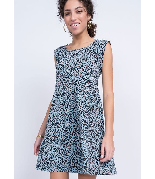 Uncle Frank Too Easy Leopard Dress