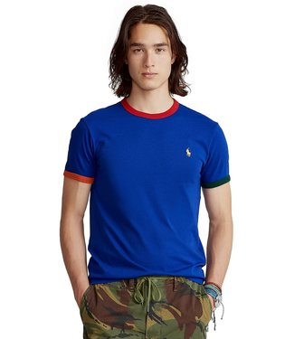 Polo Ralph Lauren Classic Fit Jersey Tee w/ Piping