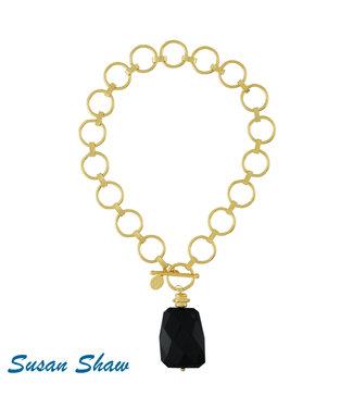 Susan Shaw Quartz Chain Necklace