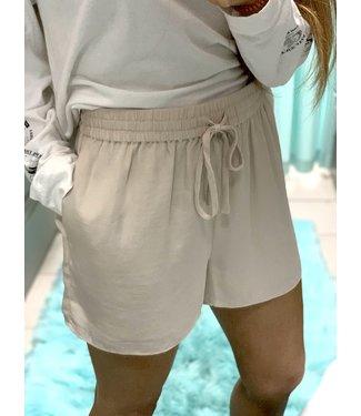 KLD Satin Drawstring Shorts