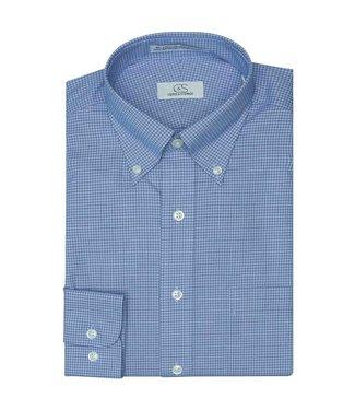 Cooper & Stewart Branson Double Check Button Down Dress Shirt