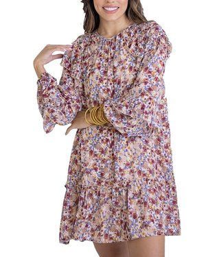 Karlie Ditzy Floral Ruffle Dress