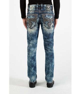 Rock Revival Tile Blue Alt Straight Jeans