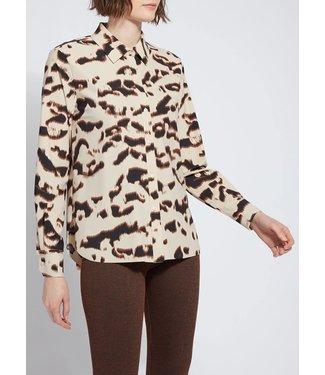 Lysse Lysse Connie Printed Button Down Shirt
