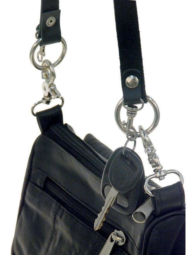 Jamin Leather Heavy Duty Shoulder Strap For Clip Pouches #A_STRAP