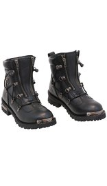 Milwaukee Women's Milwaukee Double Zip Riding Boots #BL9375LZZK