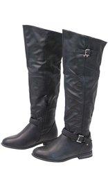 Tall Women's Engineer Boots w/Zipper #BLC01LIZ