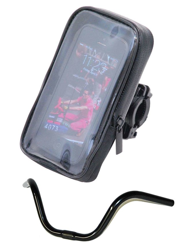 Waterproof Handlebar Clip On Cell Phone Mount #AC0326CELL