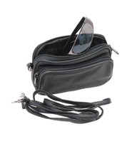Longest Lasting Cell Phone Case & Eyeglass Belt Pouch w/Purse Strap #AC3105K
