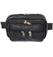 Expandable Large Leather Magnetic CCW Tank Bag #ATB2110MGK