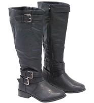 Multi-Strap Riding Boots w/1 in. Heel #BLC03APPK