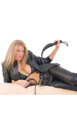 Leather 8 Foot Whip #WHIP8