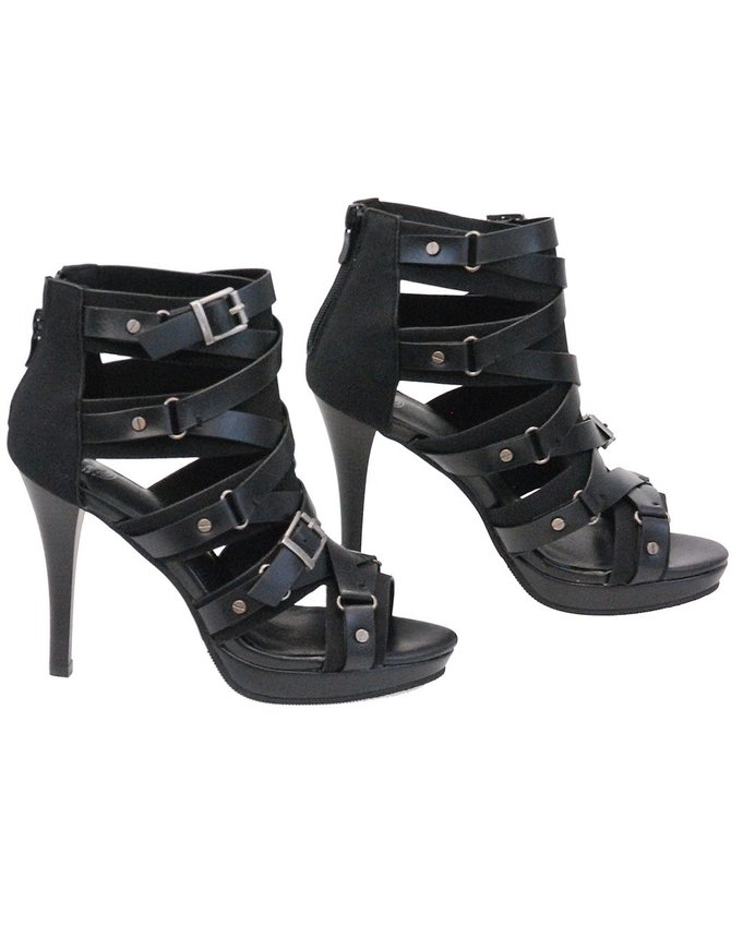 Milwaukee Milwaukee Multi-Strap Spiked Sandals #BLC9451SPK