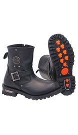 Milwaukee Milwaukee Short Engineer Boots w/Zipper #BM9040ERZK