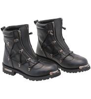 Milwaukee Men's Milwaukee Double Zip Riding Boots #BM9075LZZK