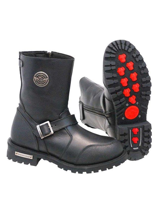 Milwaukee Men's Milwaukee Engineer Riding Boots w/Shifter Toe #BM9090ZEK