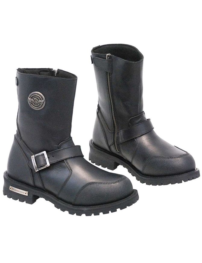 Milwaukee Men's Milwaukee Engineer Riding Boots w/Shifter Toe #BM9090ZEK