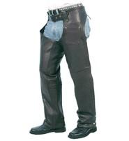 Unik Naked Leather Chaps w/Lining #C5050N