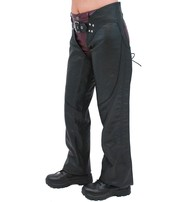 First MFG Ladies Sexy Lace Up Western Chaps #CL745LK